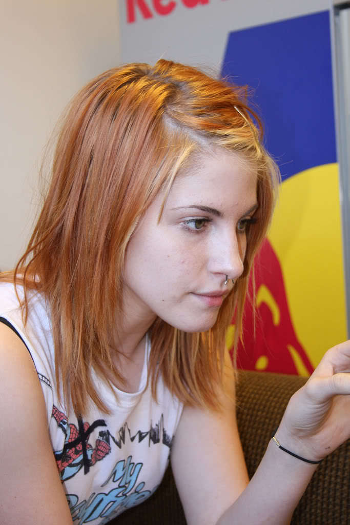 Hayley Williams Ginger Hair Pictures to pin on Pinterest