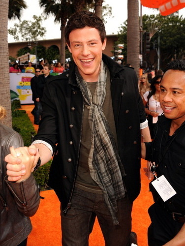 ग्ली at the 2011 Kids' Choice Awards