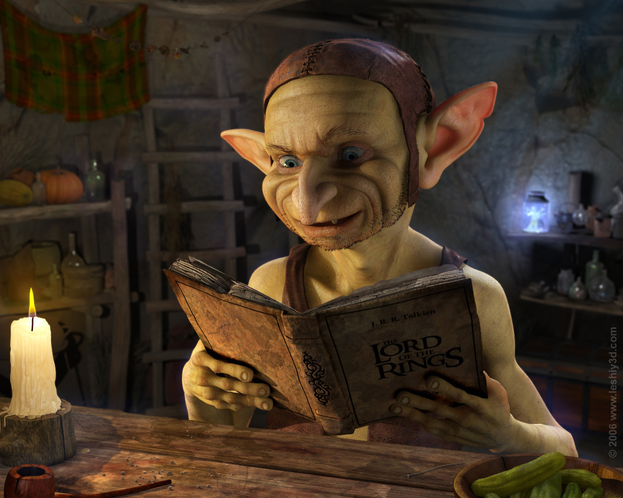 Goblins images Goblin Reading HD wallpaper and background