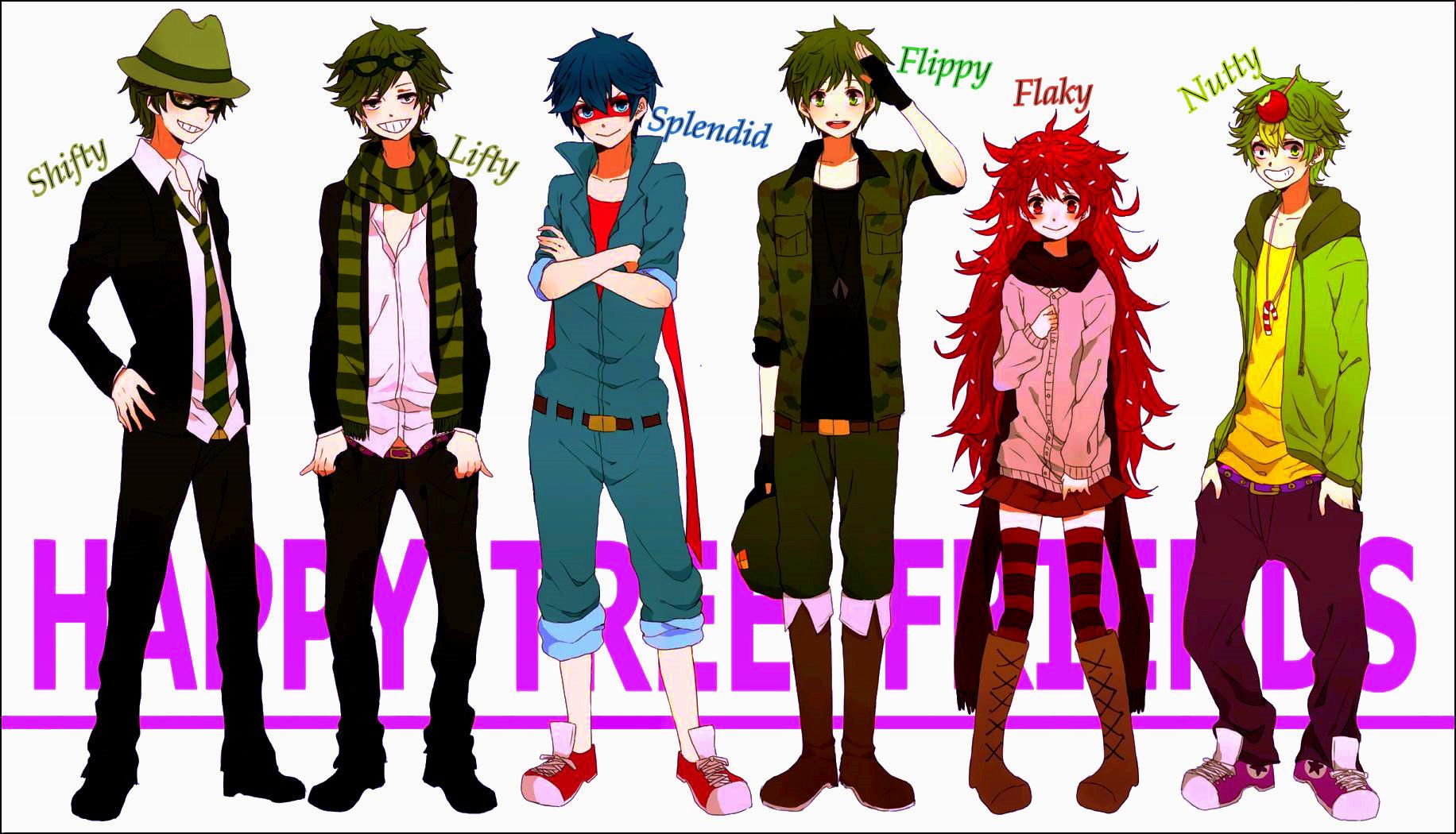 happy tree friends anime -#main