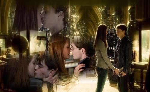 Harry♥Ginny (LOVE IN THREE KISSES)