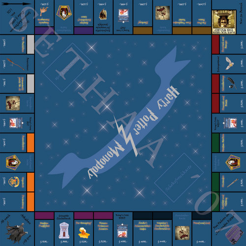 Harry Potter Vs. Twilight achtergrond entitled Harry potter Monopoly