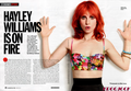 Hayley Williams in Cosmopolitan Magazine - paramore photo
