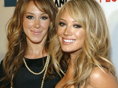 Hilary and Haylie Duff images Hilary&Haylie Wallpaper HD ...