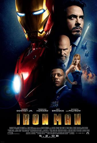 Iron Man The Movie wallpaper with anime titled Iron man Poster