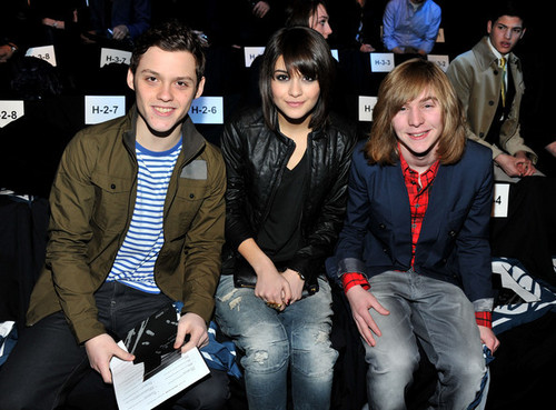 James & Sofia- G-Star - Front Row - Fall 2011 Mercedes-Benz Fashion Week