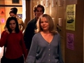 Jen & Abby walking down the hall - dawsons-creek photo