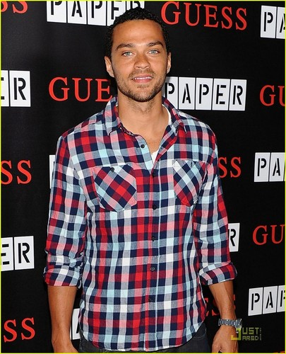 Jesse Williams: Paper's Most Beautiful People Party!
