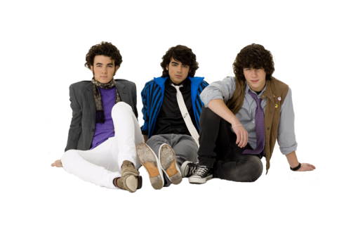 Jonas brother transparent photo!