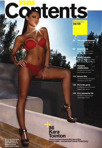 Kara-FHM Scans-August 2009