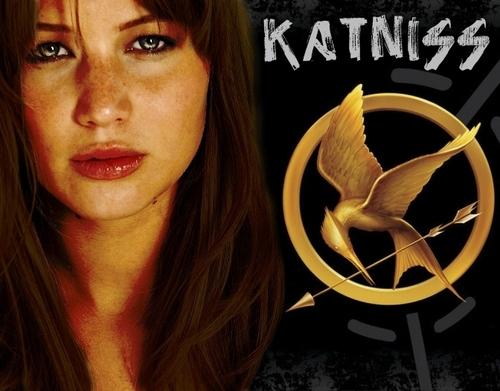 The Hunger Games Movie wallpaper entitled Katniss