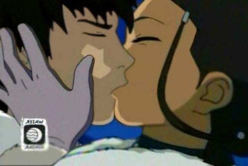 kiss Zuko and Katara