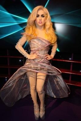 Lady GaGa Wax Figure in Vienna