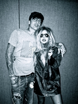 Lady Gaga and Tommy Lee
