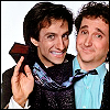Perfect Strangers fotografia probably with a portrait entitled Larry and Balki