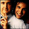 Perfect Strangers photo containing a portrait entitled Larry and Balki