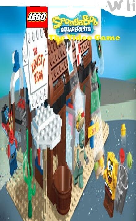Lego Spongebob The Video Game For The Wii Lego Spongebob Squarepants Fan Art 20674693 Fanpop