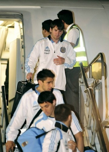 Lionel Messi Arrival in Costa Rica