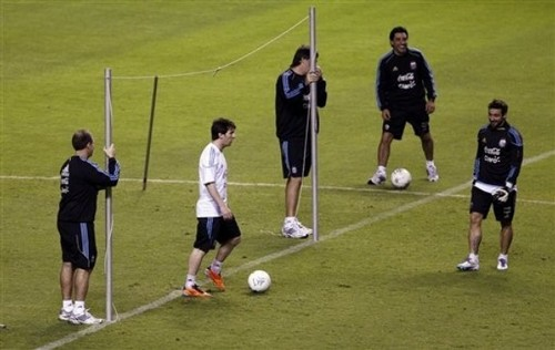 Lionel Messi Training Sessions