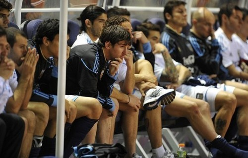 Lionel Messi during a friendly match (Costa Rica - Argentina)