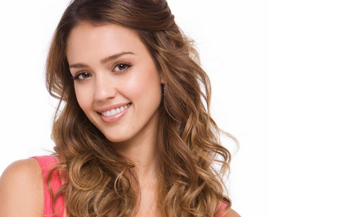 jessica alba wallpaper with a portrait titled Lovely Jessica wallpaper ❤