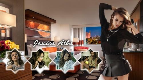 Lovely Jessica দেওয়ালপত্র ❤
