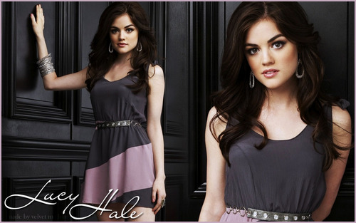 Lucy Hale - pretty-little-liars Wallpaper