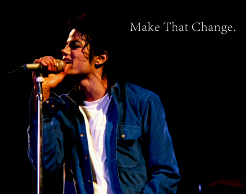 MJ man in the mirror<3