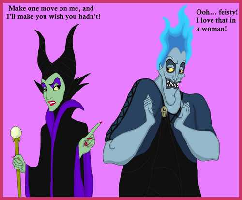 Maleficent and Hades