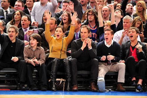 March 30, 2011 New Jersey Nets Vs New York Knicks Game