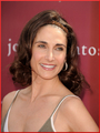 Melina Kanakaredes arriving at the John Varvatos 8th Annual  - melina-kanakaredes photo