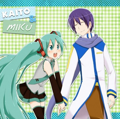 Vocaloid wallpaper with anime called Miku X Kaito