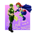 Miss Martian & Artemis