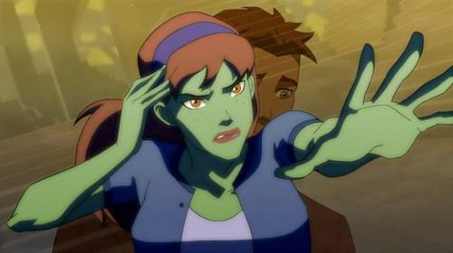 Miss Martian & Kid Flash