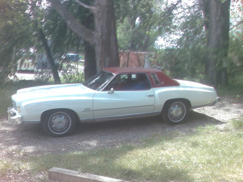 My 1974 Monte Carlo 454