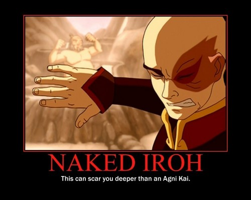 Naked Iroh - avatar-the-last-airbender Photo