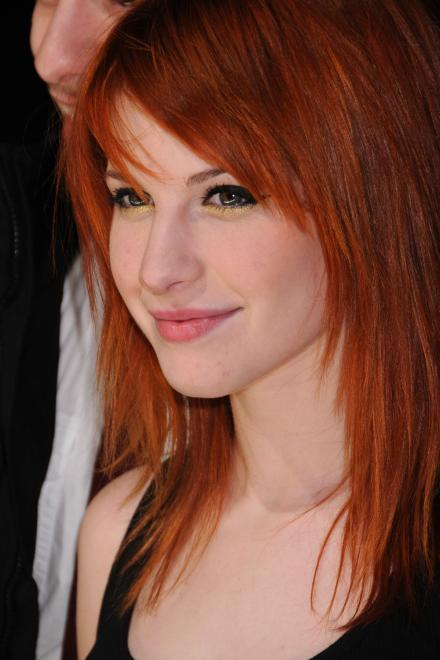 hayley williams hair images orangebrown hair wallpaper