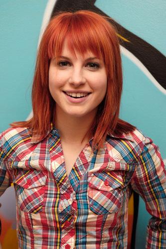 Orange-Brown Hair
