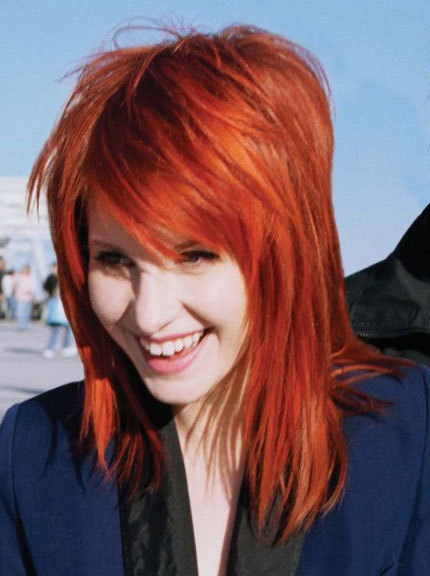 orangebrown hair hayley williams hair photo 20600447