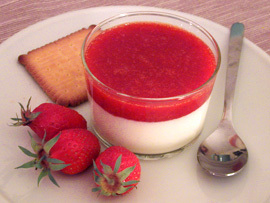 Panacotta - food Photo