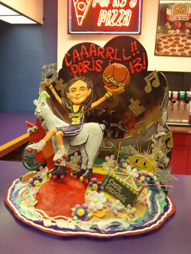 Paris' Birthday Cake