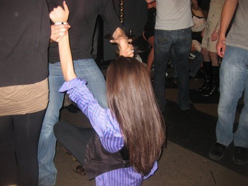 Paul and Nina dancing