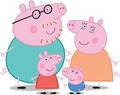 Pig Family - peppa-pig photo