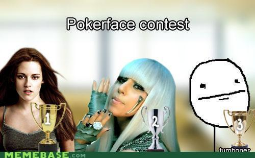 Poker Face Contest