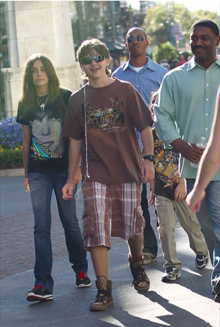 Prince,Paris, And Blanket At The Grove 3/31/2011