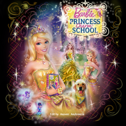 Princess Charm school  - barbie-movies Fan Art