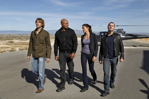 NCIS: Los Angeles fond d'écran with a business suit, a well dressed person, and a suit titled Promo 2x21