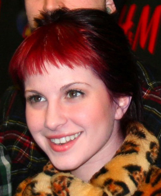 hayley williams purple hair - photo #5