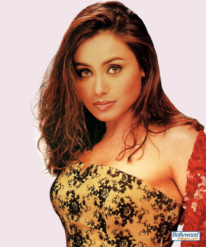 Rani Mukherjee wallpaper possibly with a bustier, attractiveness, and a cocktail dress called Rani