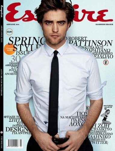 Robert Pattinson Empire magazine cover